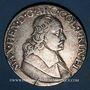 Coins Belgique. Liège. Maximilien Henri de Bavière (1650-1688). Patagon 1668