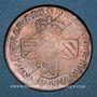 Coins Belgique. Namur. Philippe V (1700-1711). Double liard 1709