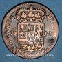 Coins Belgique. Namur. Philippe V (1700-1711). Liard 1710