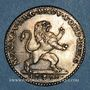 Coins Belgique. Révolution branbançonne (1789-1790). 1 florin 1790. Bruxelles