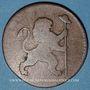 Coins Belgique. Révolution branbançonne (1789-1790). 2 liards 1790b. Bruxelles
