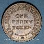 Coins Birmingham. Union Copper Company. 1 penny token 1812