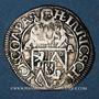 Coins Bohème. Comté de Schlick - Henri IV (1612-1650). 3 kreuzer 1635