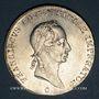 Coins Bohème. François II (1792-1835). 1/2 taler 1825C. Prague