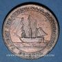 Coins Bristol. Patent Sheathing. Nail Manufactory. 1 penny token 1811