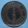 Coins Chypre. Victoria (1837-1901). 1/2 piastre 1881H. Birmingham