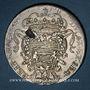 Coins Croatie. Raguse (Dubrovnik) - République. Tallero 1747