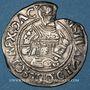 Coins Danemark. Christian III (1535-1559). 4 skilling (15)35. Arrhus