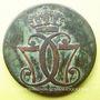 Coins Danemark. Christian VII (1766-1808). 1 skilling 1771