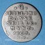 Coins Danemark. Christian VII (1766-1808). 4 shillings 1807