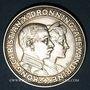 Coins Danemark. Christian X (1912-1947). 2 couronnes 1923 (coeur). Copenhague. Noces d'argent