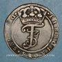 Coins Danemark. Frédéric III (1648-1670). 1 krone 1669 GK (4 mark)