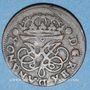 Coins Danemark. Frédéric IV (1699-1730). 2 skilling 1715. Copie d'époque