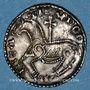 Coins Danemark. Magnus le Bon (1042-1047). Denier. Lund