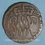 Coins Ecosse. Guillaume-Henri et Marie (1689-1694). 2 pence 1692