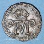 Coins Ecosse. Marie Stuart et François II (1558-1560). Lion 1559