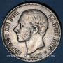 Coins Espagne. Alphonse XII (1874-1885). 5 pesetas 1883/83MS-M