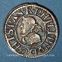 Coins Espagne. Barcelone. Philippe III (1598-1621). 1/2 real (1/2 croat) 1611