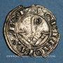 Coins Espagne. Catalogne. Comté d'Urgell. Ermengol VIII (1184-1209). Denier. Agramunt