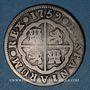 Coins Espagne. Charles III (1759-1788). 2 réaux 1759JP. Madrid