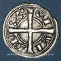 Coins Espagne. Comté de Barcelone. Alphonse I (1162-1196). Denier. Barcelone