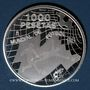 Coins Espagne. Juan Carlos I (1975- 2014). 1 000 pesetas 1998. Coupe du Monde de Football - France