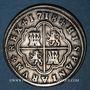 Coins Espagne. Philippe V (1700-1746). 2 reales 1718J. Ségovie
