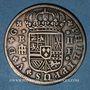 Coins Espagne. Philippe V (1700-1746). 2 reales 1721F. Ségovie