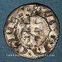 Coins Espagne. Royaume d'Aragon. Jacques I (1213-1276). Denier