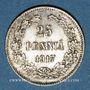 Coins Finlande. Gouvernement provisoire (juillet - novembre 1917). 25 penniä 1917 S