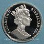 Coins Gibraltar. Elisabeth II (1952- ). 14 écu 1994. (PTL 925/1000. 10 g)