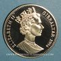 Coins Gibraltar. Elisabeth II (1952- ). 2,8 écu 1994