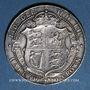 Coins Grande Bretagne. Edouard VII (1901-1910). 1/2 couronne 1910