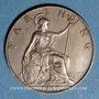 Coins Grande Bretagne. Edouard VII (1901-1910). 1 farthing 1909