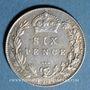 Coins Grande Bretagne. Edouard VII (1901-1910). 6 pence 1909