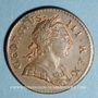 Coins Grande Bretagne. Georges III (1760-1820). Halfpenny 1771