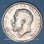 Coins Grande Bretagne. Georges V (1910-1936). 1/2 couronne 1915