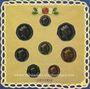 Coins Grande Bretagne. Série BU 1990