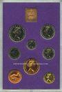 Coins Grande Bretagne. Série FDC 1970