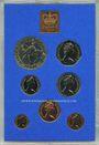 Coins Grande Bretagne. Série FDC 1977