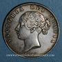Coins Grande Bretagne. Victoria (1837-1901). 1/2 crown 1848