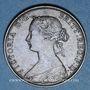 Coins Grande Bretagne. Victoria (1837-1901). 1/2 penny 1863, grand 3