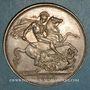 Coins Grande Bretagne. Victoria (1837-1901). 1 crown 1889