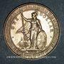 Coins Grande Bretagne. Victoria (1837-1901). 1 dollar de commerce 1898 (B)
