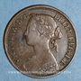 Coins Grande Bretagne. Victoria (1837-1901). 1 farthing 1860