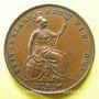 Coins Grande Bretagne. Victoria (1837-1901). 1 penny 1858/3