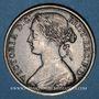 Coins Grande Bretagne. Victoria (1837-1901). 1 penny 1863