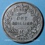 Coins Grande Bretagne. Victoria (1837-1901). 1 shilling 1854. Année rare !