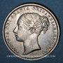 Coins Grande Bretagne. Victoria (1837-1901). 1 shilling 1873. Type A6