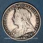 Coins Grande Bretagne. Victoria (1837-1901). 1 shilling 1895